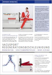 Vacustyler Vacusport Regenerationsbeschleunigung