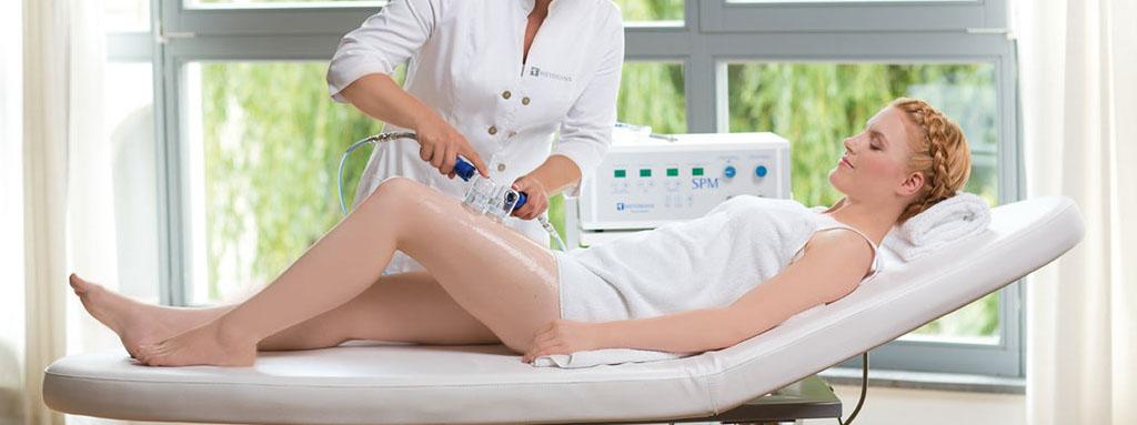 SPM Saugpumpenmassage - Lymphe mit Unterdruck zum Fließen bringen Manuelle Lymphdrainage mit apparativer Unterstützung